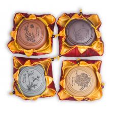 Фото Баночки для хранения чая из исинской глины