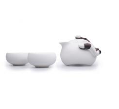 Фото Фарфоровый набор посуды «Раз, два, три»