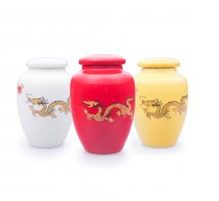 Фото Фарфоровые баночки для хранения чая