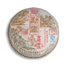 Фото Пуэр (Шу) Meng Ku Gong Ting. Вес 400 граммов. 2006 год. Обладатель богатого вкуса