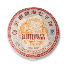 Фото Пуэр (Шу) Yunnan Menghai Qi Zi Bing Cha, 357 граммов, 2008 год