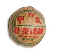 Фото Пуэр (Шу). Tuo Cha. Точа. 2004 год, 100 граммов
