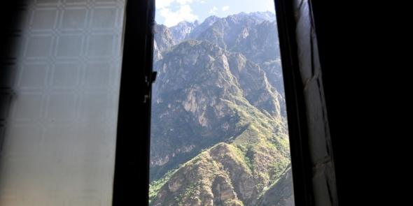 Вид из окна еще одного горного гестхауса, но уже другого. Тут мы тоже останавливаемся на ночь.