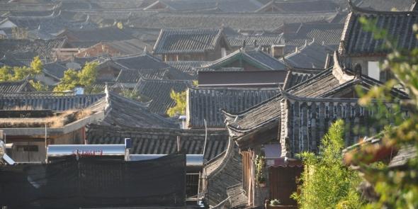 Лицзян - красивейший город Китая.