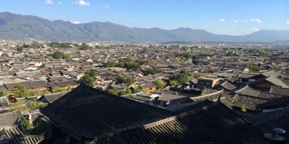 Потрясающий Лицзян. Тут мы проводим два полных дня.